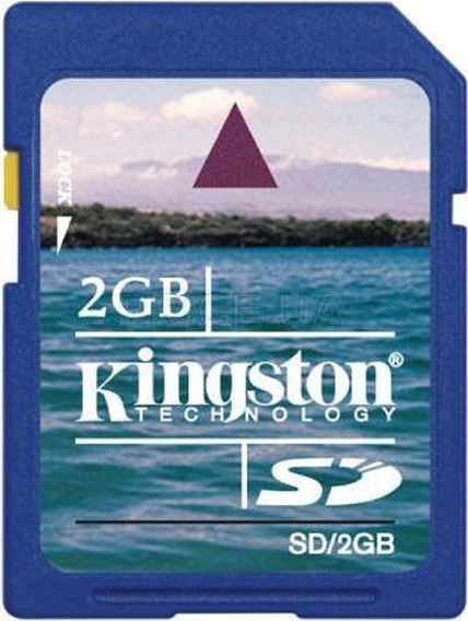 Lote 10 Cartões De Memória Sd Secure Digital 2gb Kingston