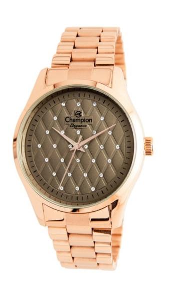 Relógio Champion Feminino Rose Cn24039r