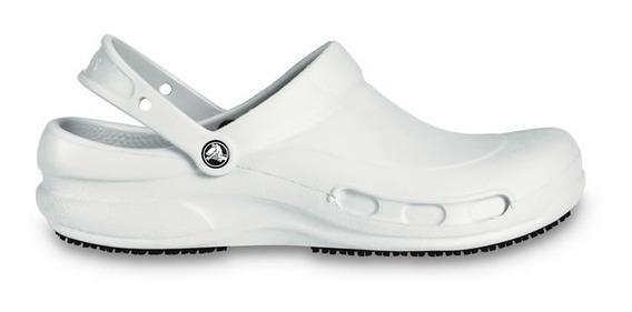 Zapato Doctores, Chefs Dentistas, Crocs Bistro Blanco Hombre