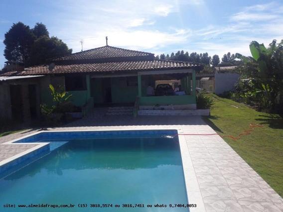 Chácara Para Venda Em Araçoiaba Da Serra, Araçoiaba Da Serra, 3 Dormitórios, 1 Suíte, 2 Banheiros - 1700_1-864105