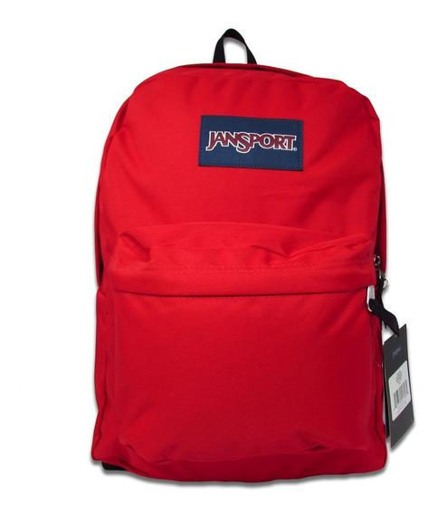 Mochila Jansport Superbreak 25l Js00t5015xp Red Tape Rojo