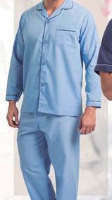 Pijama Trevira Lisa Abotonado Cuello Camisero/ Mallbits