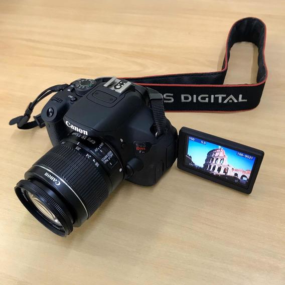 Câmera Canon T5i + 18-55 Is.