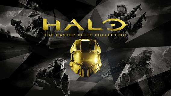 Halo Masterchief Collection /xbox One /mídia Física /lacrado