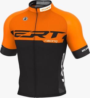 Camisa Ert Elite Racing Laranja 2020 Ciclismo Mtb Bike