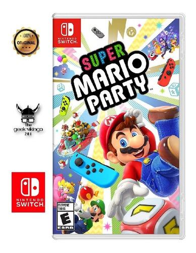 Imagen 1 de 7 de Super Mario Party Físico Nintendo Switch Nuevo Y Original