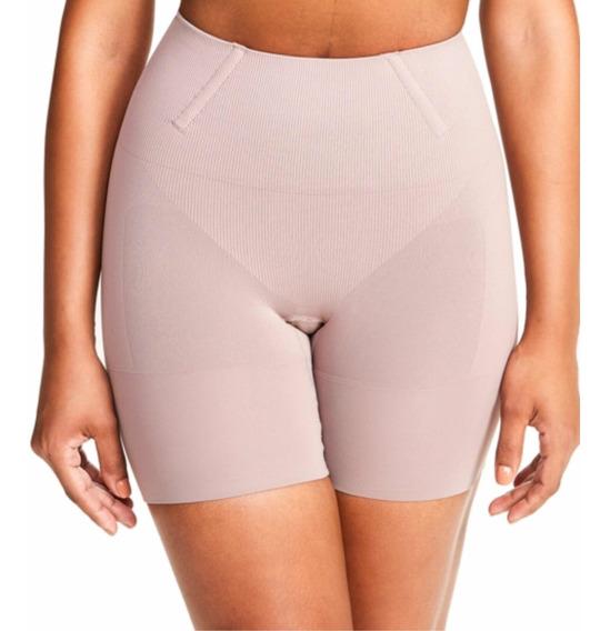 Bermuda Modeladora Plié Control Skin Shorts Cintura Baixa