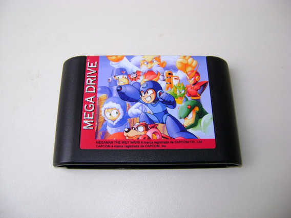 Megaman The Wily Wars Para Mega Drive - Repro