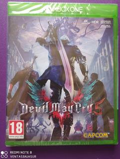 Devil May Cry 5 Xbox One Nuevo Empaque Sellado
