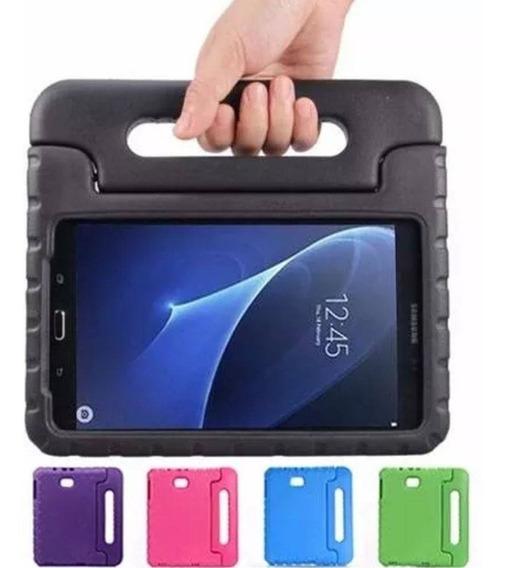 Capa Maleta Tablet Samsung Galaxy A 7 T280 + Vidro + Caneta