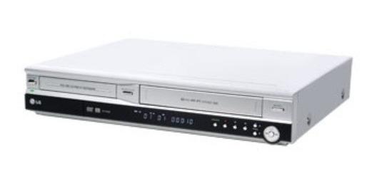 Gravador De Dvd E Vhs LG Rc7000b