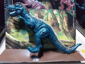 Dinossauro Rex Com Som Luz E Movimento 35cm Grande Top