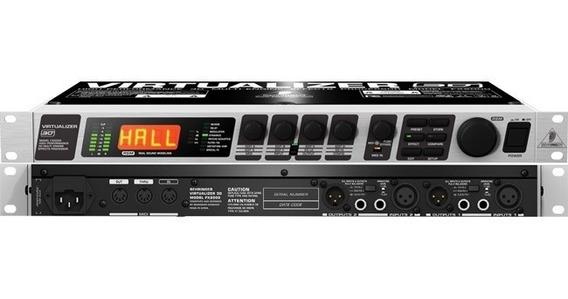 Virtualizer Behringer 3d Fx2000