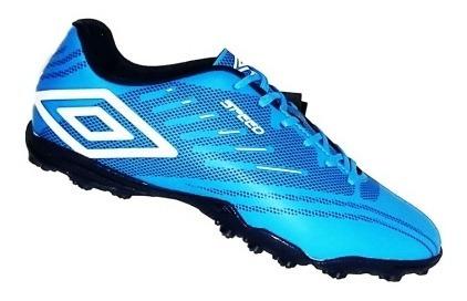 Chuteira Umbro Society Soccer Shoes Speed Iv907746 Azul
