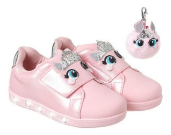 Tênis Pampili Sneaker Luz Princesa