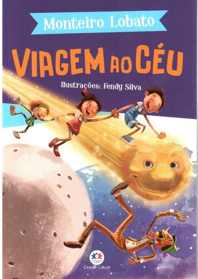 Livro - Viagem Ao Céu - Sítio Do Pica Pau Amarelo