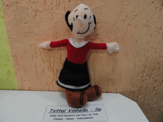 Boneca Olivia Palito Popeye Marinheiro Pelucia