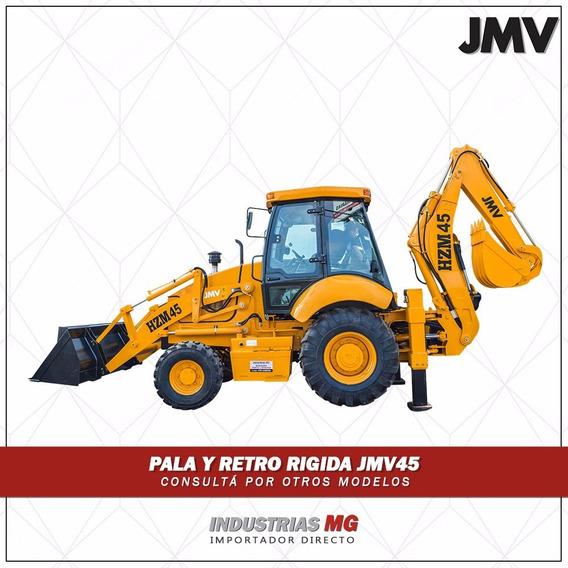 Retropala Jmv 45 Articulada 4x4 8100kg De Peso 105hp