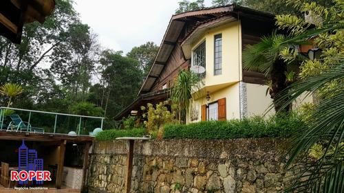 Excelente Casa À Venda No Condomínio Residencial 5 Lagos Mairiporã, São Paulo - Ch00941 - 68856224