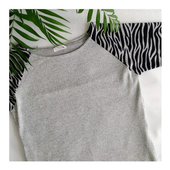 Suéter De Lactancia Para Amamantar Animal Print Embarazada De Diseño