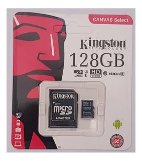 Cartão De Memória 128gb Kingston Micro Sd Black Friday
