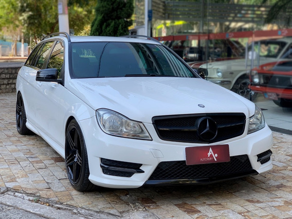 Mercedes-benz C 180 1.6 Cgi Touring 16v Turbo Gas Aut - 2014