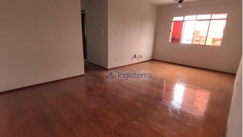 Imagem 1 de 10 de Apartamento Para Alugar, 85 M² Por R$ 800,00/mês - Igapó - Londrina/pr - Ap1775