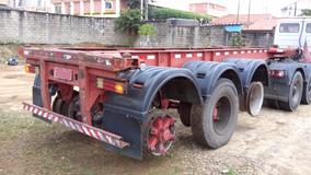 Carreta Porta Container Aceitamos Trocas E Alugamos