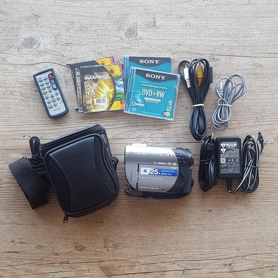 Filmadora Handycam Sony Dcr-dvd308 + Brindes - Bateria Ruim