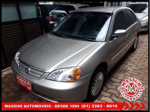 Honda Civic 1.7 Lx 16v Gasolina 4p Automático