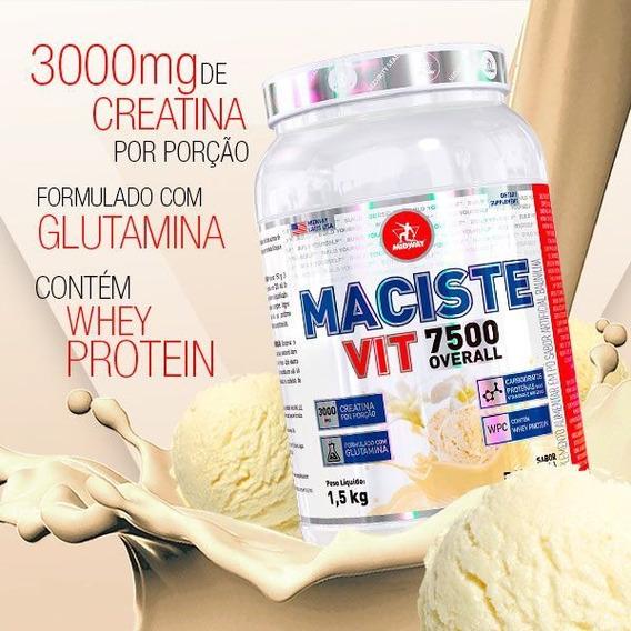 Hipercalórico Maciste Vit Overall 7.500 1,5 Kg