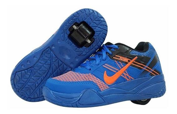 Tenis Roller Nike-presenteie Seus Filhos-frete Gratis