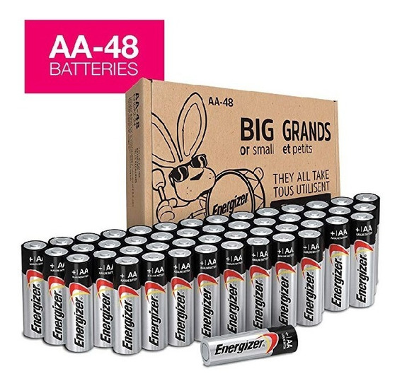 Pilas Energizer Max Aa Y Aaa Paquete 24 Uds 20 Vrd