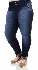 Kit 02 Calças Jeans Plus Size - Calças Jeans Feminina