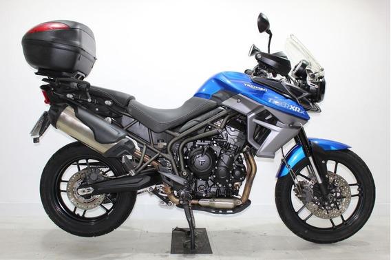 Triumph Tiger 800 Xrx 2015 Azul
