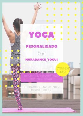 Clases De Yoga Personalizadas.