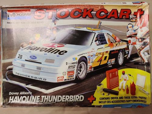 Monogram Havoline Ford Thunderbird + Accesorios Extra 1/24