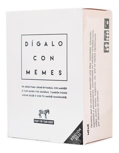 Juego de cartas Dígalo con Memes 2021 Fight For Your Right