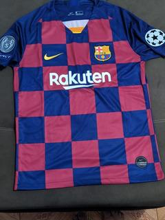 Camisa Do Barcelona 19/20 Liga Dos Campeão