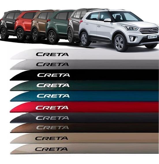 Friso Lateral Hyundai Creta 2017 A 2020 Cor = Carro