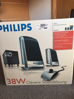 Parlanes Philips Multimedia Modelo Spa2300