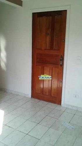 Apartamento Com 2 Dormitórios Para Alugar, 50 M² Por R$ 800,00/mês - Vila Galvão - Guarulhos/sp - Ap0893