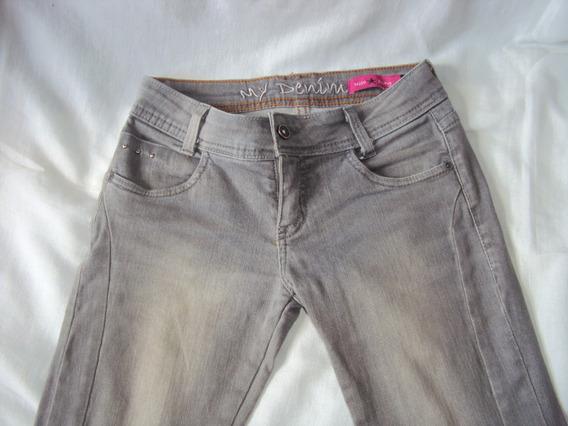 Calça Jeans Infantil Menina Miss Young Tamanho 14