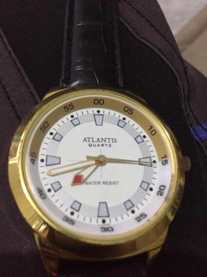 Relógio Atlantis Dourado A3099