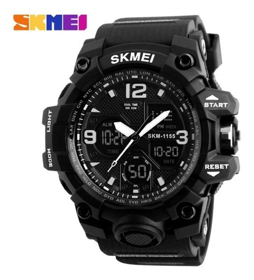 Relógio Masculino Skmei Super Choque 1155b Digital Analogico