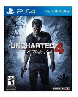 Uncharted 4 Para Ps4 Fisico