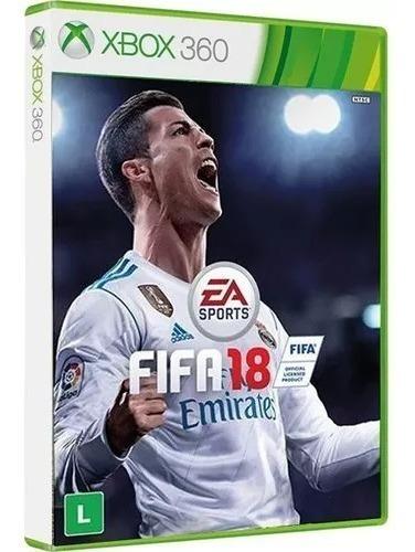 Fifa 18 Xbox 360 Original Física Português Novo Frete Grátis