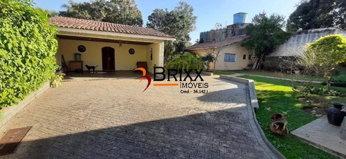 Imagem 1 de 11 de Casa Térrea Com Edícula , Á Venda Com 03 Quartos -arujazinho Iii - Ca-599