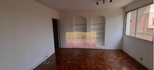 Imagem 1 de 21 de Apartamento Com 3 Dormitórios Para Alugar, 118 M² Por R$ 2.750/mês - Vila Mariana - São Paulo/sp - Ap0962