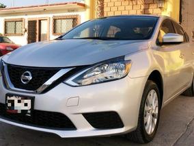 Nissan Sentra 1.8 Sense Cvt,unico Dueño Y Fact Orig